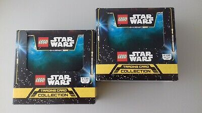 Lego Star Wars Trading Card Game 2 x Display / 100 Booster