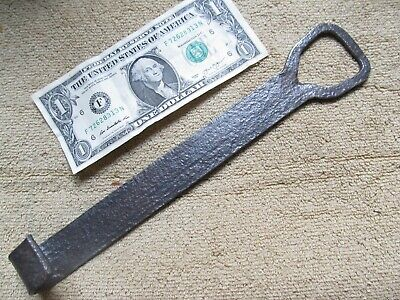 Early Antique Iron Revolutionary War Colonial Hook, Tool, BLACKSMITH MADE, GIFT