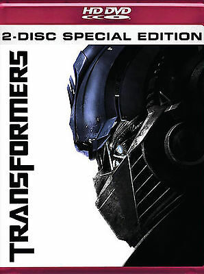 Transformers-HD DVD-2007, 2-Disc Set, Special Edition)-FREE SHIPPING IN CANADA
