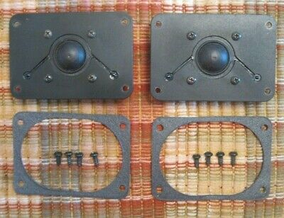 Pair of OEM Polk Audio Monitor 10A Peerless Dome Tweeters / Excellent Condition