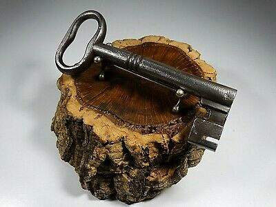 Large Antique Key,Made 19Th Ct,Wrought Iron,Rustic,Lock,Door # 2
