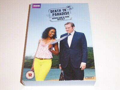 Death In Paradise: The Complete Series 1 & 2 Collection - DVD SET Season One Two