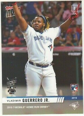 HR DERBY Participant Vladimir Guerrero Jr. RC 2019 Topps NOW #HRD8