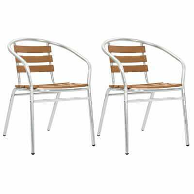 2 X CHAISES Bistro poly rotin empilable - EUR 59,97 ...