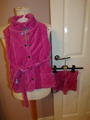 Superb Little Girls Designer Joules Pembry Jacket And Skirt Uk 4 Years Rrp £80