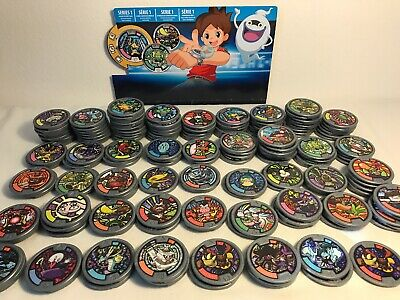 Yo-Kai Series 1, 2, 3 Mixed Medals Lot of 10