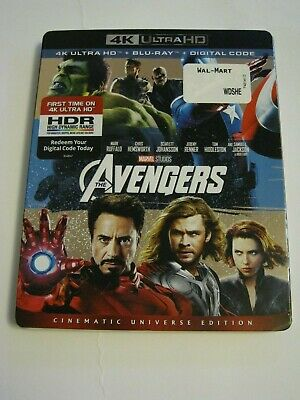 The Avengers (4K Ultra HD slip cover only)No Disc No Blu Ray