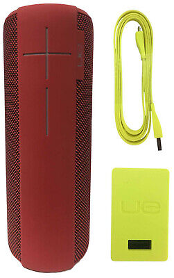 Logitech Ultimate Ears UE MEGABOOM Wireless Waterproof Portable Speaker Lava Red