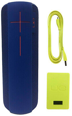 Ultimate Ears UE MEGABOOM Wireless Waterproof Portable Speaker Electric Blue
