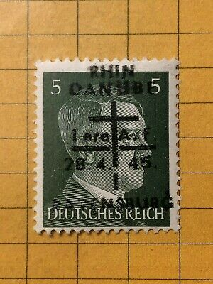 GERMANY (RAVENSBURG) 1945 POST WWII-LOCAL ISSUE 5 Rpf.  MNH