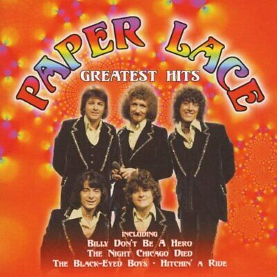 Greatest Hits - Paper Lace CD F3VG The Cheap Fast Free Post The Cheap Fast Free