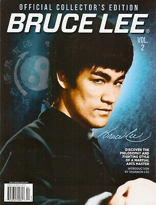 BRUCE LEE OFFICIAL COLLECTOR'S EDITION MAGAZINE #2-Enter the Dragon-Jeet Kune Do