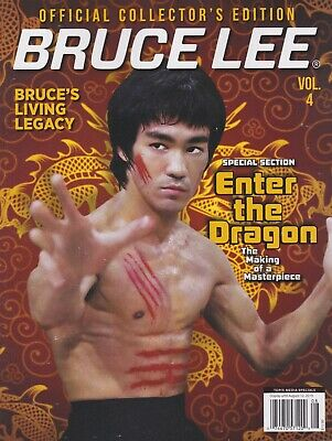 BRUCE LEE OFFICIAL COLLECTOR'S EDITION MAGAZINE #4-Enter the Dragon-Jeet Kune Do