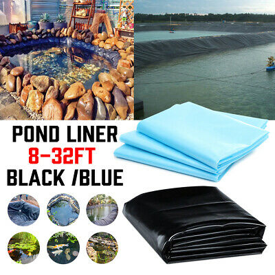 2 Type PVC Pond Liner Skin Garden Fish Outdoor Landscaping Supplies Equipment