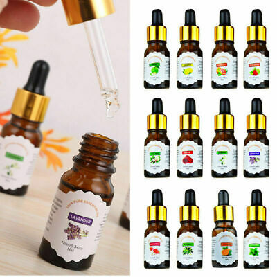 10ml Drop Design 100% Pure Natural Essential Oil Aromatherapy Air Diffuser Oil