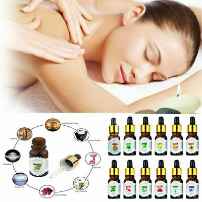 10ml/Bottle Drop Design Essential Oil Pure & Natural Aromatherapy For Diffuser