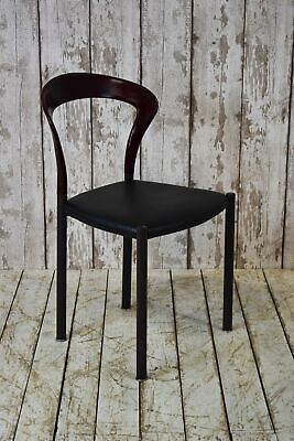 Vintage Kusch Co. Industrial Stacking Cafe Bar Restaurant Chair (12 Available)