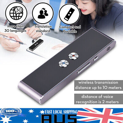 Portable Smart Multi-Language Voice Translator for Learning Travel Meeting