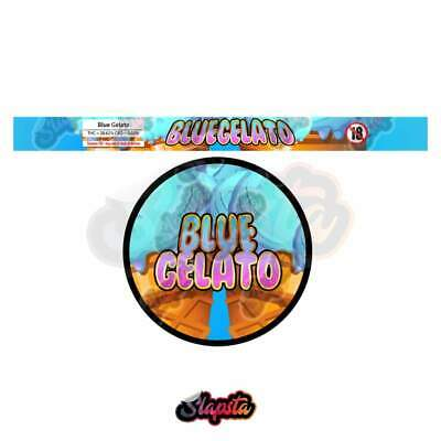 Blue Gelato Cali Tuna Can Pressitin Strain Labels