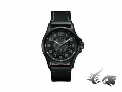 Reloj Luminox Field Automatic Day Date 1800 Series, PVD, Negro, XL.1801.BO.NV