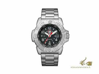 Reloj de Cuarzo Luminox Sea Navy Seal Steel 3250 Series, Negro, XS.3252