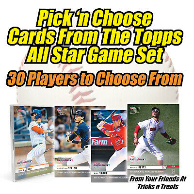 2019 Topps NOW AL & NL All-Star Set - Pick 'n Choose (Trout, Yelich Alonso etc.)