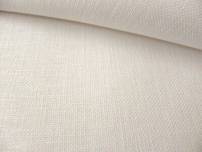 Antique white 32 Count Zweigart Belfast linen even weave fabric size options