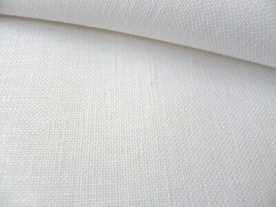 White 32 Count Zweigart Belfast linen even weave fabric size options