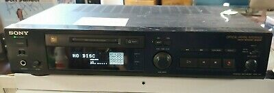 Sony Minidisc Player Recorder System MDS-302