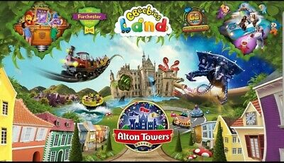 Alton Tower Tickets 2 For £20