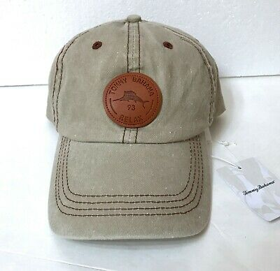 7819b97e96eb0f New TOMMY BAHAMA RELAX HAT Khaki Relaxed Fit Unstructured Dad Cap Patch Men
