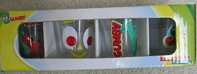 Gumby Shot Glasses Four Pack Set