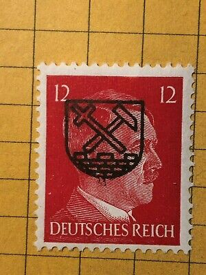 GERMANY (NIESKY) 1945 POST WWII-LOCAL ISSUE 12 Rpf.  MNH