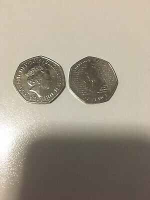 Sherlock Holmes 2019 50p Fifty Pence Coin Rare & New Royal Mint Uncirculated