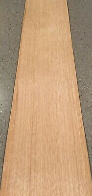 "White Oak Wood Veneer - Flake: 4 Sheets (40"" X 9"") 10 Sq Ft"