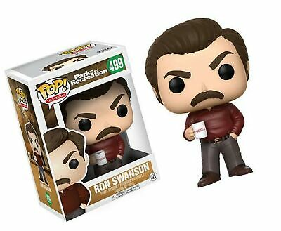 Funko Pop Television: Parks and Recreation - Ron Swanson Figure Standard