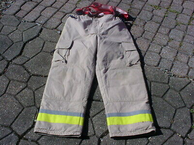 Bristol New Old Stock Turnout Pants Fireman Firefighter Fire Dept 34.5
