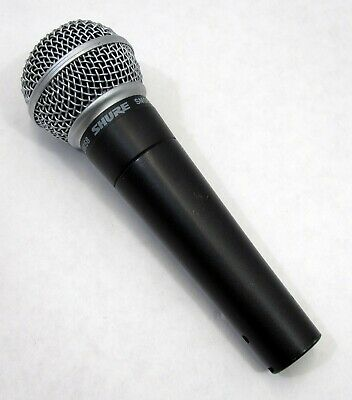 Shure SM58 Dynamic Handheld Wired Vocal Microphone Mic