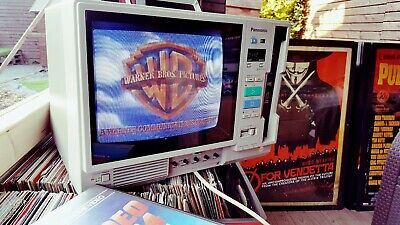"Panasonic AG500 10"" Colour Monitor with Built in VHS Player. VERY SOUGHT AFTER!!"
