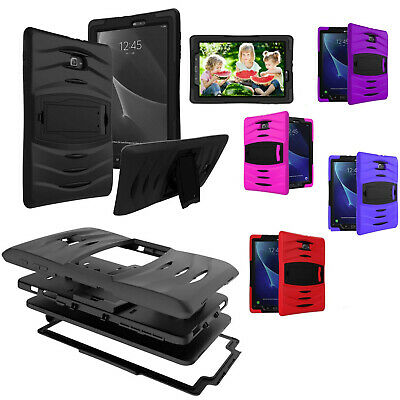 For Samsung Galaxy Tab A 10.1 T580 SM-T580 Heavy Duty Shockproof Armor Case
