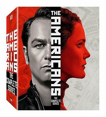 New! The AMERICANS Complete Series Seasons 1-6 DVD USA