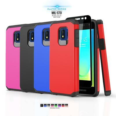 for SAMSUNG GALAXY J2 SHINE (AT&T), [DuoTEK Series] Phone Case Shockproof Cover