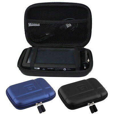 """Large Hard Carry Case Cover 5"""" In Car Sat Nav Holder For GPS TomTom Classic  uD"""