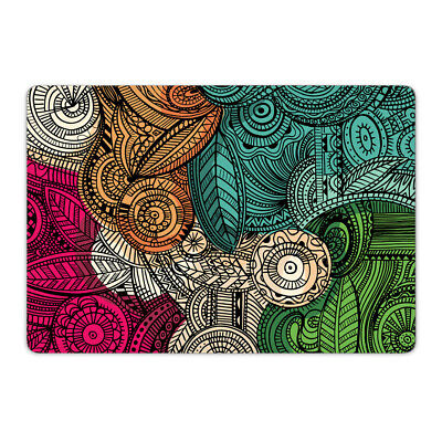 Paisley Colour Vinyl Skin Sticker Wrap to Cover Top Lid of MacBook Air Pro