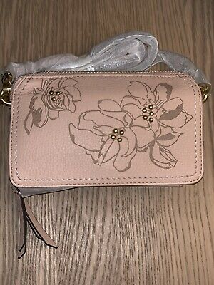 183852155 VERA BRADLEY MALLORY RFID All in One Crossbody Pink Sand - $40.00 ...