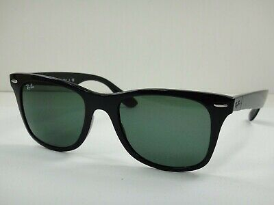 30516e9de RayBan RB4195-601/71 WAYFARER LITEFORCE BLACK green 52 mm Men's Sunglasses