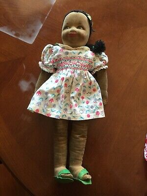 Vintage/ Antique Cloth Dolly -  Large Size 17Inch /43Cms - Mystery Maker -1940'S