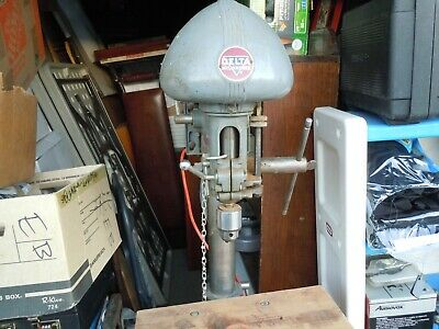 Drill Press DP-220 1950s Delta Milwaukee Rockwell USA Big and Heavy Bench Top