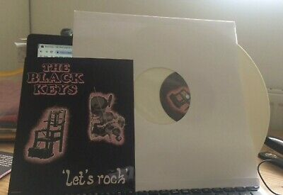 THE BLACK KEYS - LET`S ROCK - Limited Edition WHITE Vinyl - Indies Exclusive