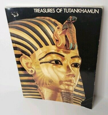 Treasures of Tutankhamun Softcover book Exhibition program 1976